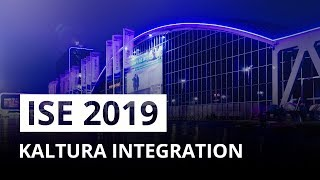 Epiphan at ISE 2019 - Kaltura integration