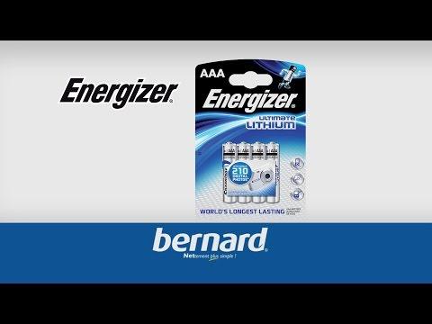 Piles Ultimate Lithium ENERGIZER - Bernard