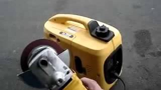 видео Бензогенератор инверторного типа Kipor IG1000