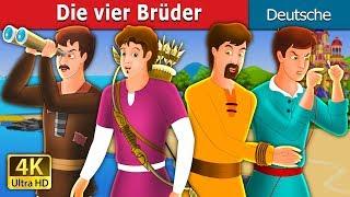 Die vier Brüder   Gute Nacht Geschichte   Deutsche Märchen