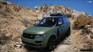 GTA V REDUX ✪ - 2017 RANGE ROVER SVAUTOBIOGRAPHY  DYNAMIC - Test Drive OFF-ROAD - 1080p60FPS