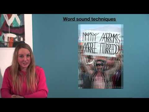 VCE English - Word Sound Techniques (Language Analysis)