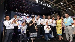 Cambridge Audio Asia launch