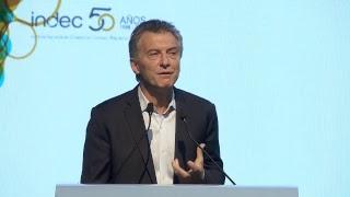 El Presidente encabeza el acto conmemorativo por el 50° aniversario de la creación del INDEC