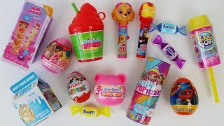 Candy dispenser surprise toys Pikmi Pops Party Pop Teenies, Num Noms slime, Lost Kitties