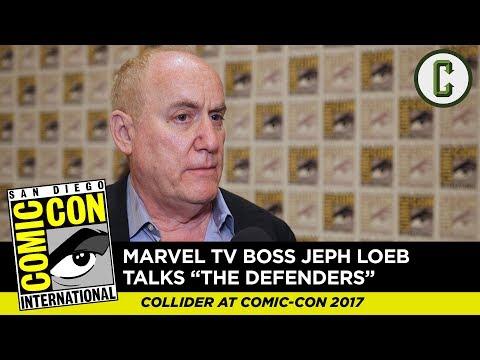 "Marvel TV's Jeph Loeb Talks ""The Defenders"" - Comic Con 2017"