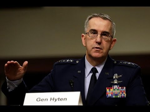 U S  nuclear general says would resist 'illegal' Trump strike order