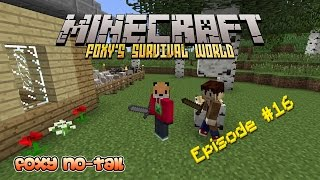 Minecraft Survival - How to build a Second Floor [16]