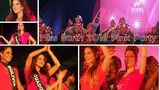 Miss Earth 2016 Pink Party in Davao || Busyqueenphils Vlog