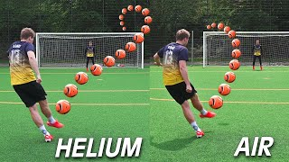 The Helium Football Test! (Experiment)