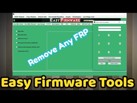 Easy Firmware Tools 2.10 Any Frp Tool Flash Tool Pattern Tool