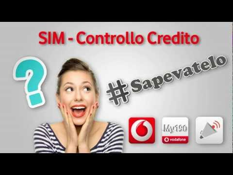 #sapevatelo - SIM - Controllo credito