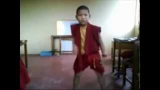 Little monks got talent