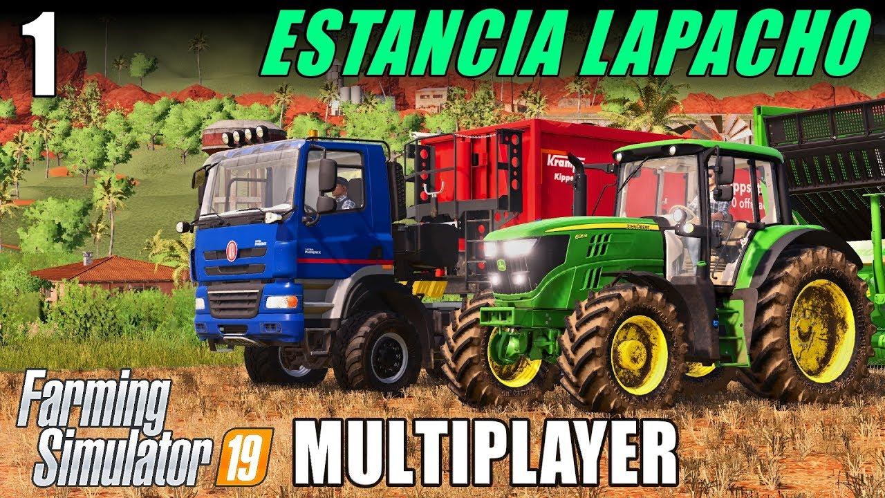 MULTIPLAYER FARMING SIMULATOR 19 | Estancia Lapacho - Ep 1