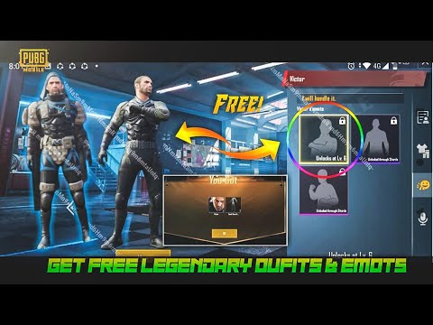 PUBG MOBILE NEW EVENT : GET FREE LEGENDARY 4 OUTFITS AND 3 EMOTES || DETAILS : BEST ANDROID