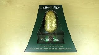 Gigantic Golden After Eight Easter Egg