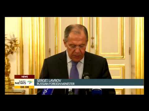 Kerry meets with Lavrov on Ukraine crisis