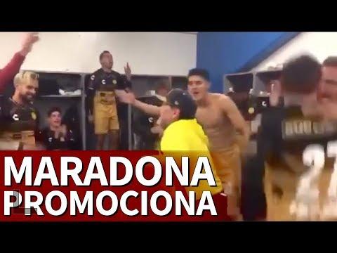 La 'revancha' de Maradona: fiesta en el vestuario | Diario As