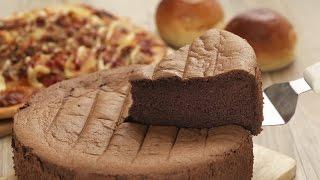 (楊桃美食網-3分鐘學做菜) 巧克力戚風蛋糕HD