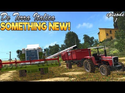 De Terra Italica - Farming Simulator 17 - Ep.1 (forgot Wheel Cam)