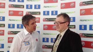 Richard Burden talks to Jason Plato