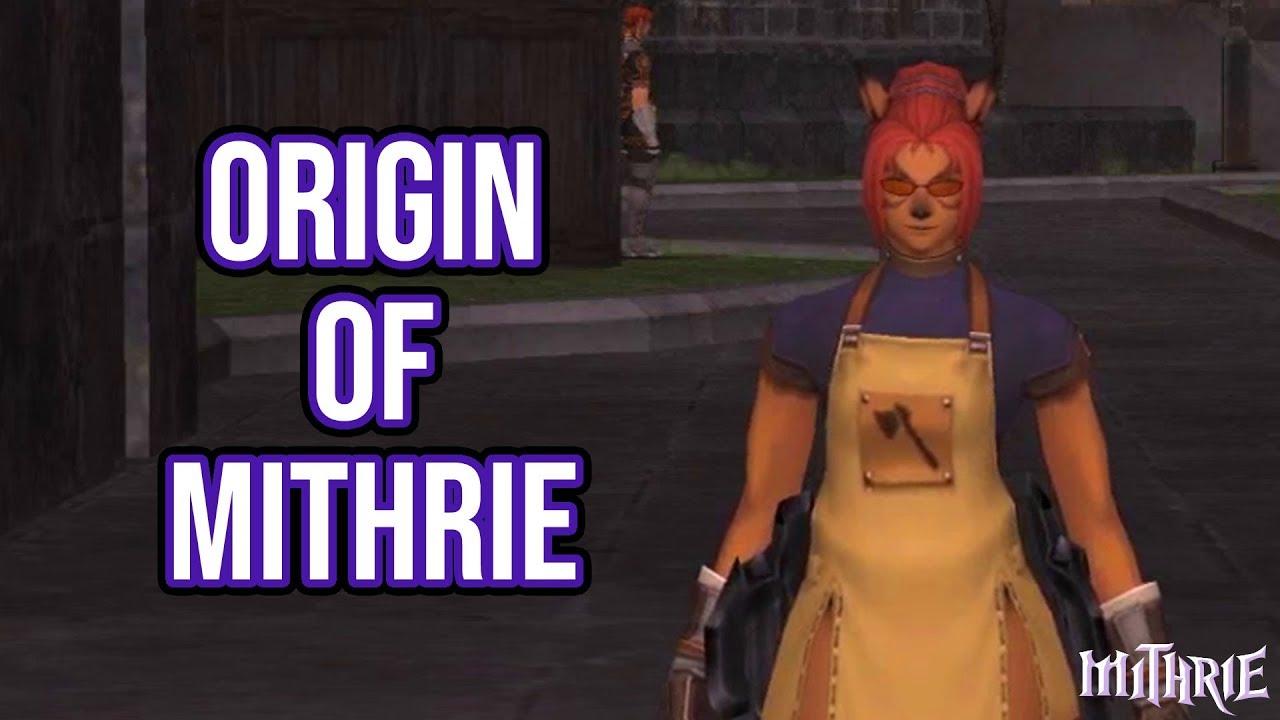 Final Fantasy XI - Origin of Mithrie (My Lore :p)