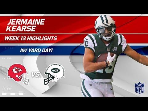 Jermaine Kearse's 9 Catches & 157 Yards vs. KC! | Chiefs vs. Jets | Wk 13 Player Highlights