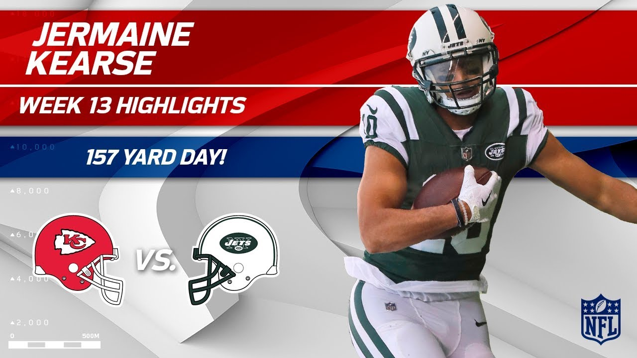 89280156446 Jermaine Kearse's 9 Catches & 157 Yards vs. KC! | Chiefs vs. Jets | Wk 13  Player Highlights