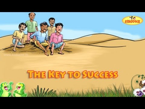 The Key To Success || English Moral Story For Kids - KidsOne