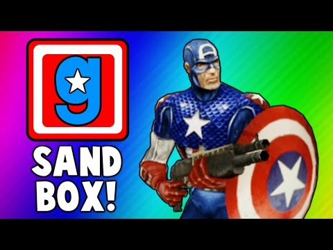 Gmod Cooking Show, Captain America Skits, Hail Hydra! (Garry's Mod Sandbox Funny Moments & Skits) - VanossGaming  - LBcXoWxQgNo -