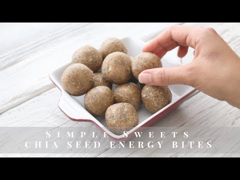Chia Seed Energy Bites | Live Simply Natural