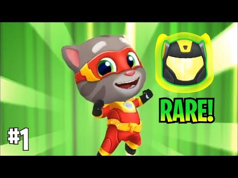 I Got Rare Helmet - Talking Tom Hero Dash (Gameplay) #1