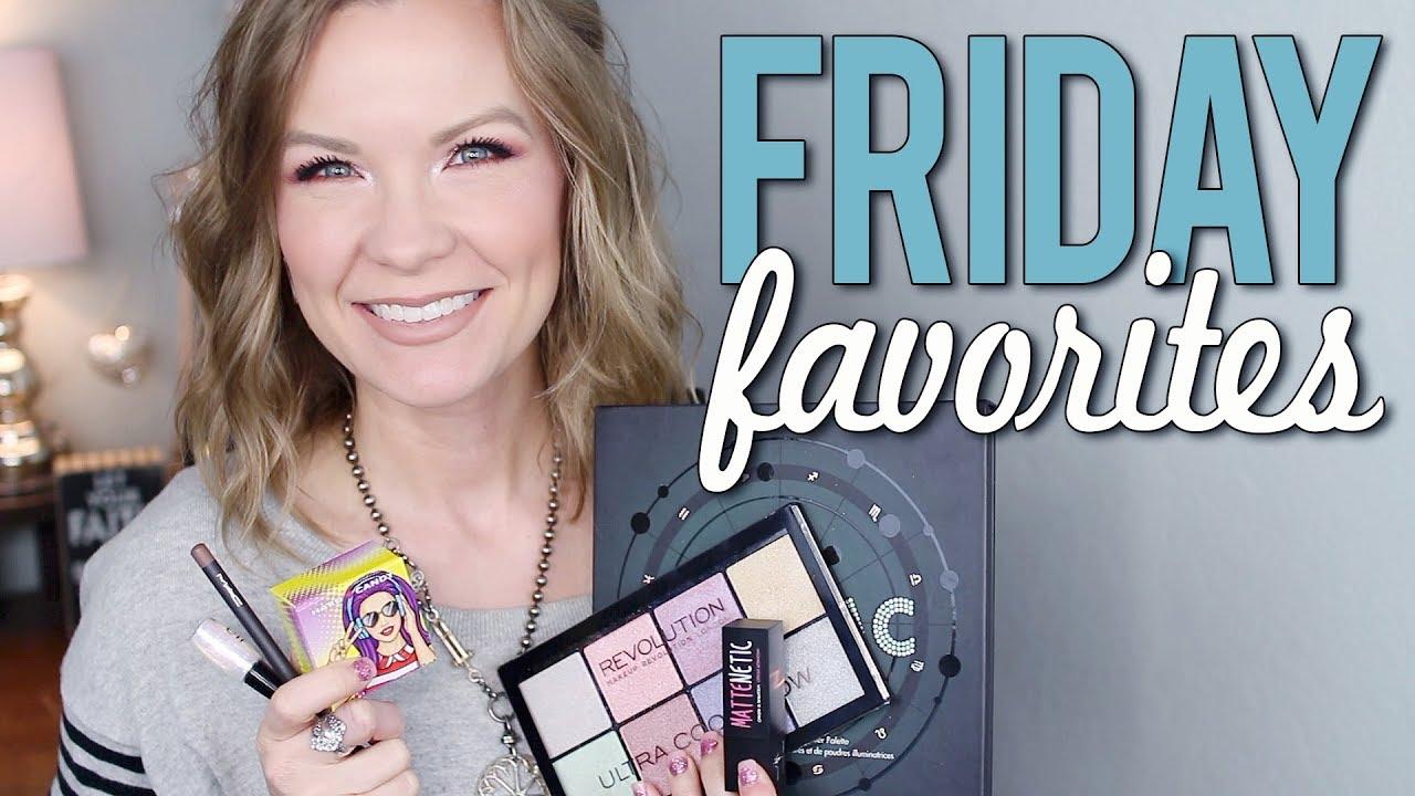 Friday Favorites 9 : Friday favorites & fooeys 2 9 18 bh cosmetics makeup revolution