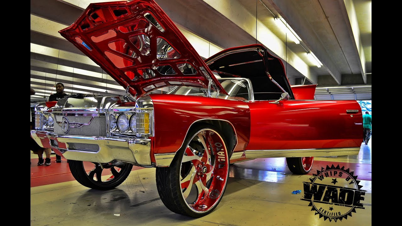 Candy Red Donk Vert On 30 Quot Forgiatos Www Whipsbywade Com
