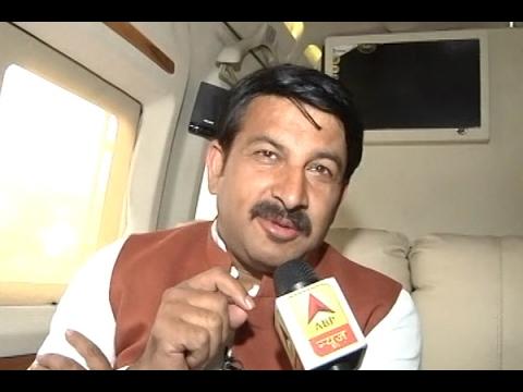 MCD Elections 2017: Manoj Tiwari appreciates ABP News