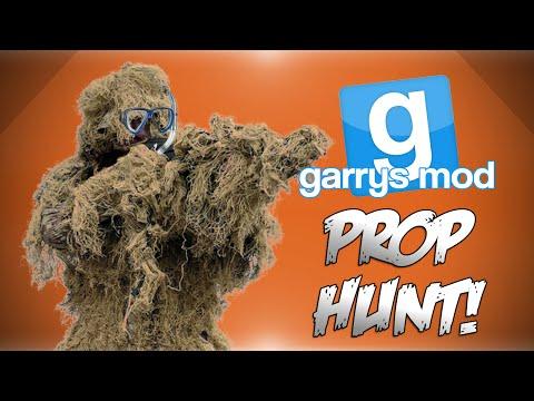 GMod Prop Hunt! - MLG Poles, Chandelier Glitch, Underwater Ghillie Suit! (Garrys Mod Funny Moments)