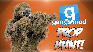GMod Prop Hunt MLG Poles Chandelier Glitch Underwater Ghillie Suit Garrys Mod Funny Moments