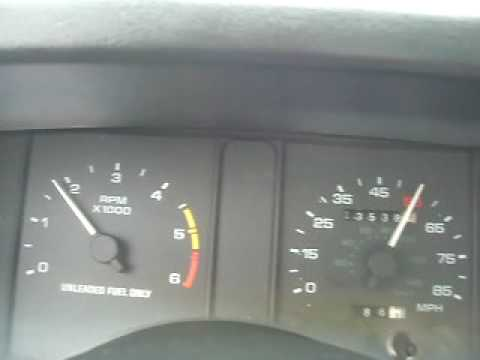 2 3l 100% mustang throttle Acceleration   wtf? PART II