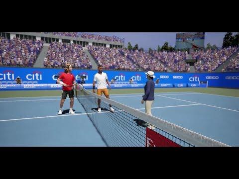 Stefanos Tsitsipas vs Nick Kyrgios ATP Washington 19 AO International Tennis