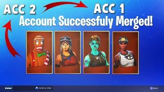 *OFFICIEEL* FORTNITE ACCOUNT SAMENVOEGEN / MERGE + OG ACCOUNTS TRANSFER! + INFO OVER FORTNITE MERGE