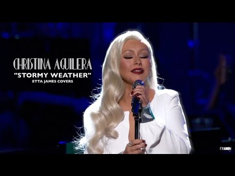 Christina Aguilera - Stormy Weather (Etta James covers) 2017
