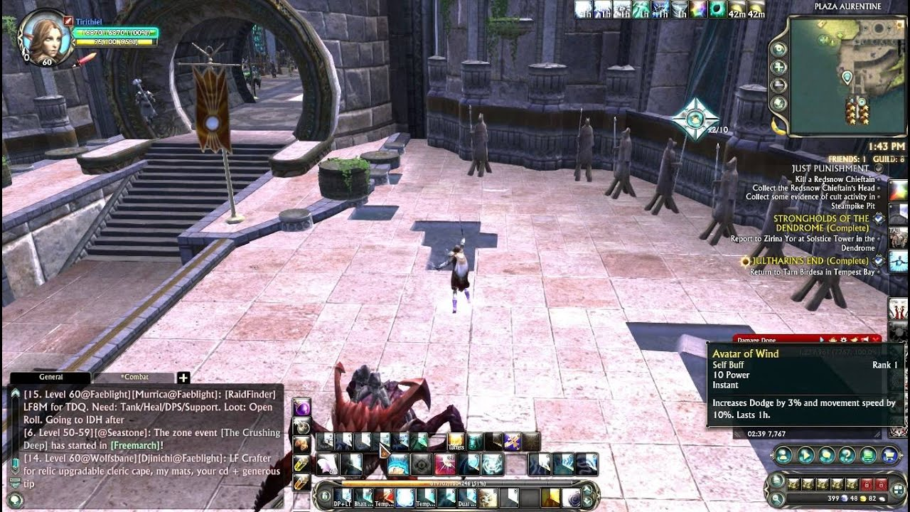rift how to find dps
