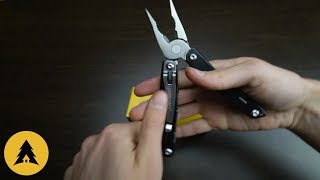 мультитул Leatherman Wingman серебристо черный