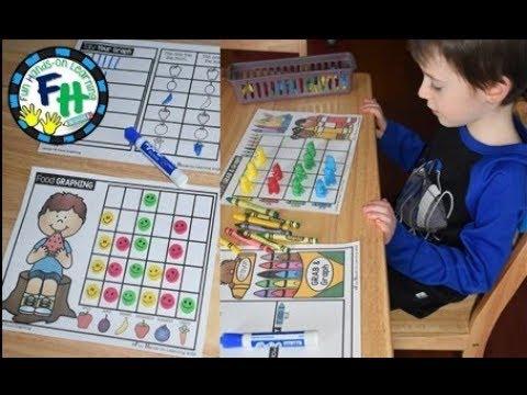 Graphing & Data Activities {Kindergarten & First Grade}