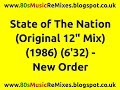 "watch he video of State of The Nation (Original 12"" Mix) - New Order 
