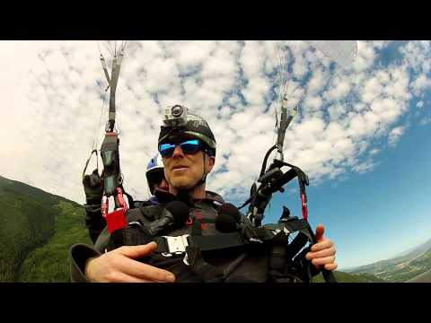 Paragliding in Aspen, Colorado with Performance Today