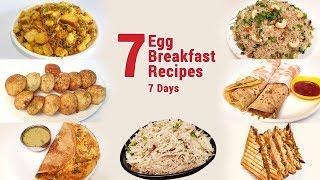 7 Breakfast recipes with eggs   Easy Breakfast Recipes   Indian Breakfast Recipes   Egg Recipes