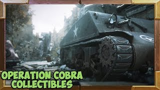 Call of Duty WW2 All Collectibles Operation Cobra Mission (Mementos / Heroic Actions)