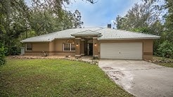 24030 Tamber Rd. Brooksville FL Best Real Estate Agent Duncan Duo RE/MAX Home Video Tour Acreage