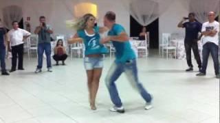 Improviso de Zouk com Philip Miha e Fernanda Teixeira no Zouk Vale 2012